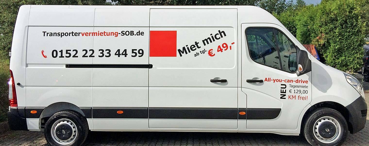 Kontraktlogistik von Sprinter bis LKW
